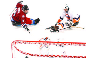 Mark Weimer won multiple sled hockey championships on his way to the Colorado Adaptive Sports Foundation Hall of Fame.