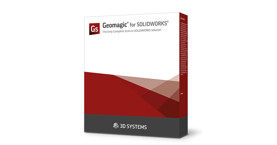 Geomagic for SOLIDWORKS 3D scanning software