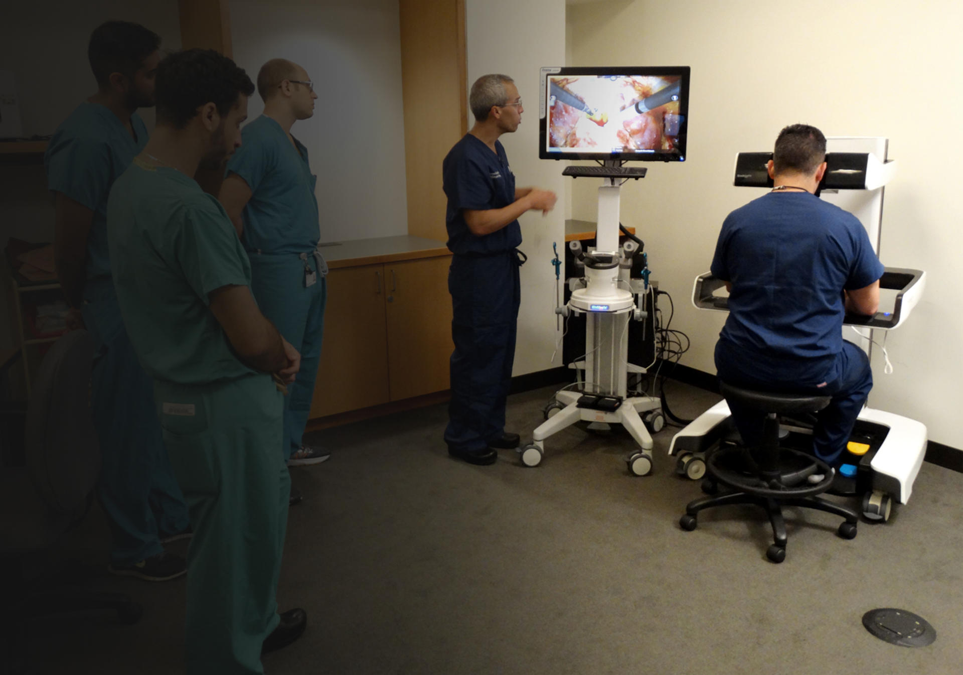 Robotic Surgical Skills Program at Thomas Jefferson University Hospitals top banner